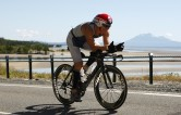 150K into the 180K bike leg of Ironman Cairns